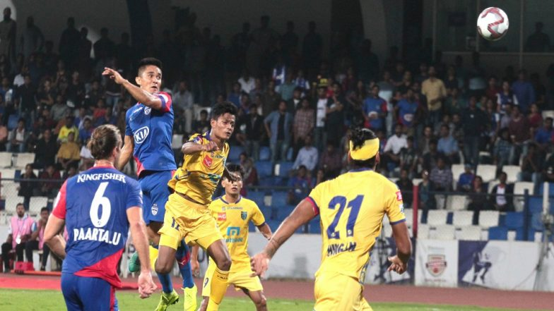ISL 2018-19: Bengaluru Fight Back to Snatch a Point Against Kerala Blasters