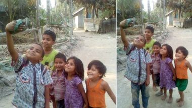 Viral Picture of Kids Posing for a Selfie With a Slipper Has Left Twitter Heavy-Hearted; Celebs Like Amitabh Bachchan, Boman Irani React (View Pics)
