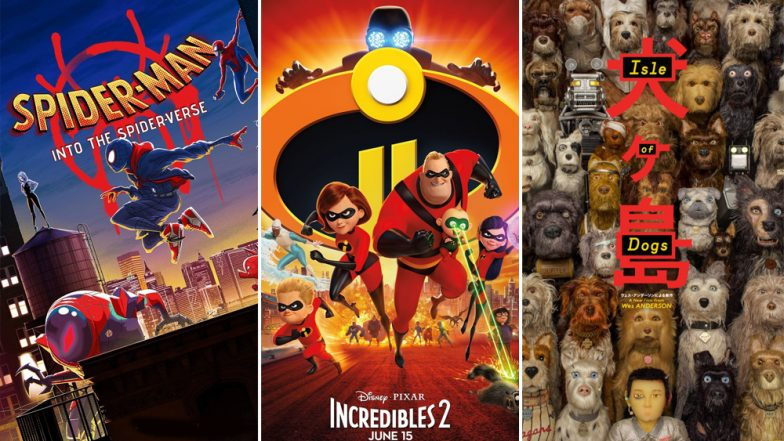 Oscars 2019 Best Animated Feature Winner Predictions: Isle of Dogs, Incredibles 2, Spider-Man: Into the Spider-Verse – Who Will Win the Trophy at 91st Academy Awards?
