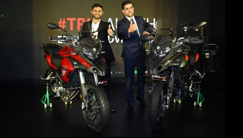 Benelli TRK 502, TRK 502 X Motorcycles Launched in India; Prices Start From Rs 5 Lakh