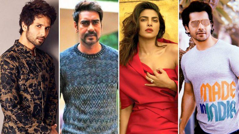 Shahid Kapoor, Priyanka Chopra, Ajay Devgn and Varun Dhawan Condemn The Jammu And Kashmir Terrorist Attack That Killed CRPF Jawans