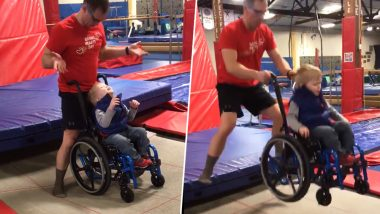 Viral Video of Wheelchair-Bound 4-Year-Old Jumping on a Trampoline Will Give You All Sorts of Feels