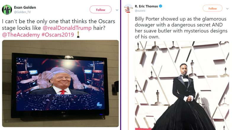 Oscars 2019 Funny Memes: From Aquaman Jason Mamoa's Scrunchie to Billy Porter's 'Cinderella' Outfit, Best Academy Award Jokes to LOL