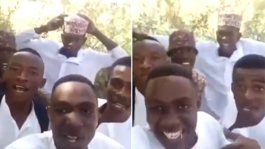 Nigerian Boys Sing 'Bholi Si Surat' After Winning the Internet with 'Kal Ho Na Ho' Cover (Watch Video) Now