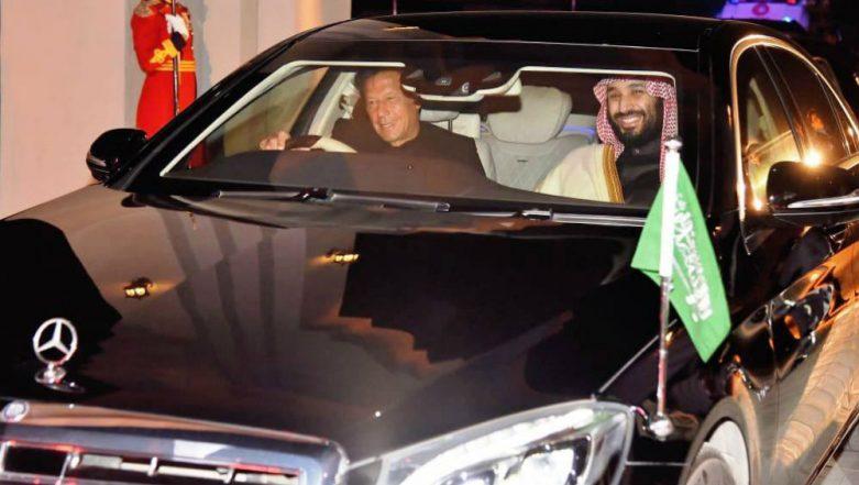 'Imran Khan The World's Highest Paid Chauffeur?' Twitter Trolls Pakistan PM as He Drives Saudi Crown Prince Salman in Islamabad