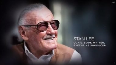 The Academy Awards 2019 In Memoriam Segment Include A Tribute To The Late Stan Lee