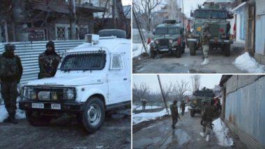 Jammu & Kashmir: Two Jaish-e-Mohammed Terrorists Gunned Down in Shopian Encounter in Shopian, Search Operation Underway