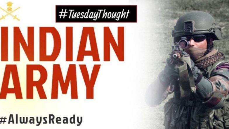 Indian Army Shares Poem, Tweets #AlwaysReady After IAF Air Strike on JeM Terror Camps Across LoC in Balakot