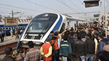 Vande Bharat Express Behind Schedule During 1st Commercial Run, Reaches Varanasi 1 Hr 25 Min Late