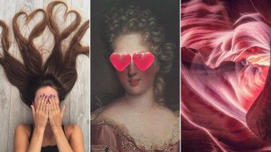 Valentine's Day 2019: Instagram's Weekend Hashtag Project is All About Capturing Love, Check Some Romantic Heart-y Pictures!