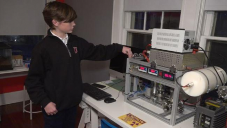 14-year-old American Boy Creates Nuclear Fusion Reactor At