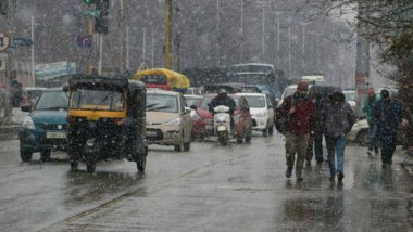 Winters 2019: Heavy Snowfall and Rainfall to Lash Jammu and Kashmir, Himachal Pradesh Over Next 48 Hours, Says IMD