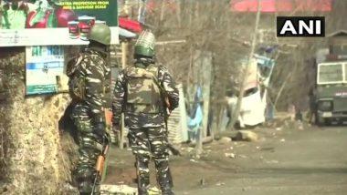 Jammu & Kashmir: Gunfight Erupts in Shopian Between Security Forces and Militants