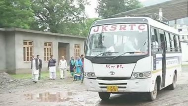 Jammu & Kashmir: Bus Service From Poonch to Pakistan Suspended After Fresh Encounter in Pulwama