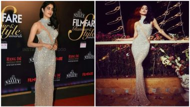 Janhvi Kapoor Trolled by Fashion Police For Her 'Penguin Walk' at Filmfare Glamour and Style Awards 2019 (Watch Video)