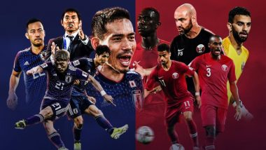 Japan vs Qatar, AFC Asian Cup 2019 Final Live Streaming Online: How to Get Asia Cup Match Live Telecast on TV & Free Football Score Updates in Indian Time?