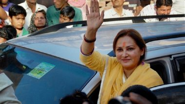 Jaya Prada Booked for Alleged Objectionable Comments Against Azam Khan
