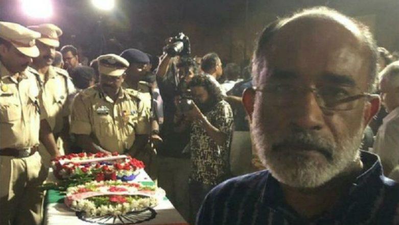 KJ Alphons Posts Selfie With CRPF Soldier's Coffin, Deletes it After Getting Slammed