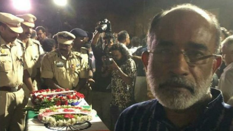 KJ Alphons Posts Selfie With CRPF Soldier's Coffin, Deletes it After Getting Slammed