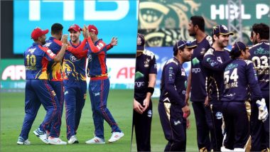 PSL 2019 Live Streaming, KK vs QG: Get Live Cricket Score, Watch Free Telecast of Karachi Kings vs Quetta Gladiators on Geo Super, PTV Sports & Cricketgateway Online