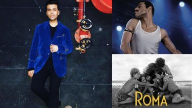 Oscars 2019: Karan Johar Predicts Big Win For Roma, Bohemian Rhapsody's Rami Malek at 91st Academy Awards