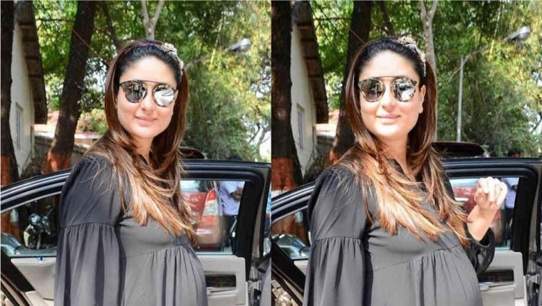 Kareena Kapoor Khan is All Smiles as She Flaunts Her 'Baby Bump' (View Pic)