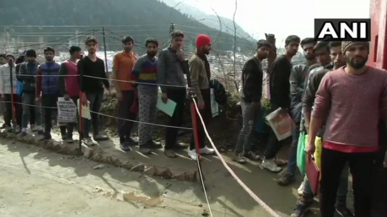 Jammu and Kashmir: Indian Army's Recruitment Drive in Baramulla District Attracts Kashmiri Youth