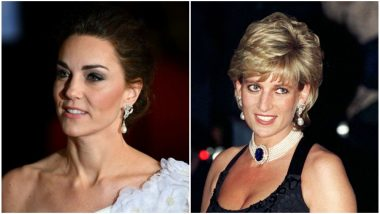 BAFTA Awards 2019: Kate Middleton Wore Princess Diana's Gorgeous Earrings At The Red Carpet; See Picture