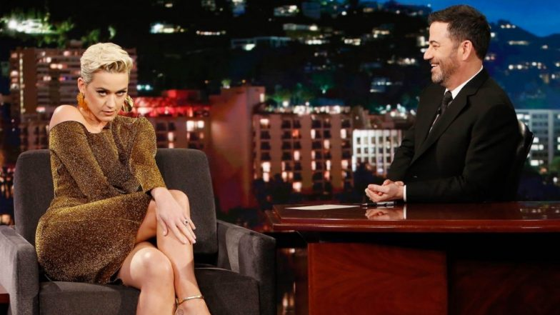Katy Perry Reveals How Orlando Bloom Asked Her to Marry in a Helicopter on Jimmy Kimmel Live Show (Watch Video)