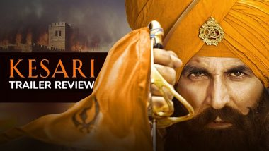 Kesari trailer: Akshay Kumar is beyond outstanding! | Parineeti Chopra | Karan Johar