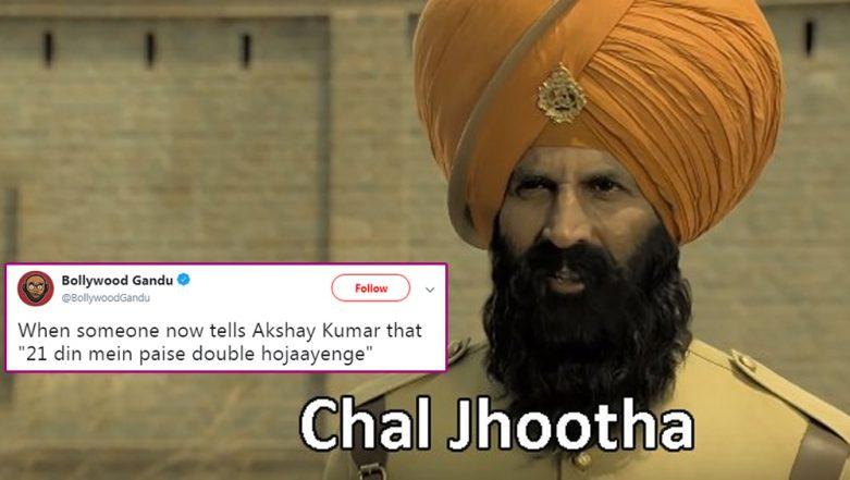 Kesari Trailer Memes: Akshay Kumar's Historic Drama Film Inspires Funny Jokes on Twitter