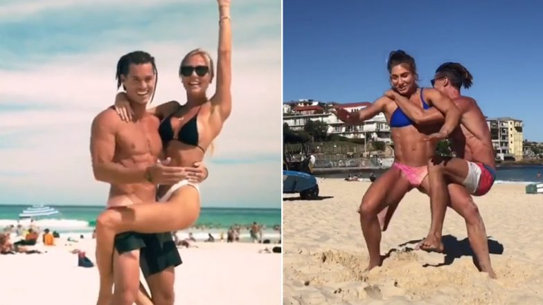 Koala Challenge: This Internet Challenge Wants You to Go Around Your Partner's Body Without Falling (Watch Videos)