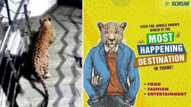 Korum Mall in Thane Uses Recent Leopard Spotting to Promote It as 'Most Happening Spot In The City', View Pic!