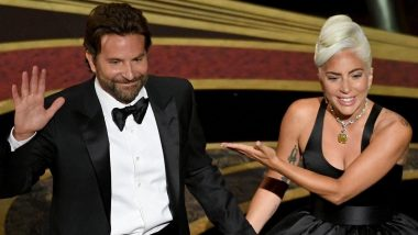 Lady Gaga Finally Reacts To Linkup Rumours With Bradley Cooper On Jimmy Kimmel Live!