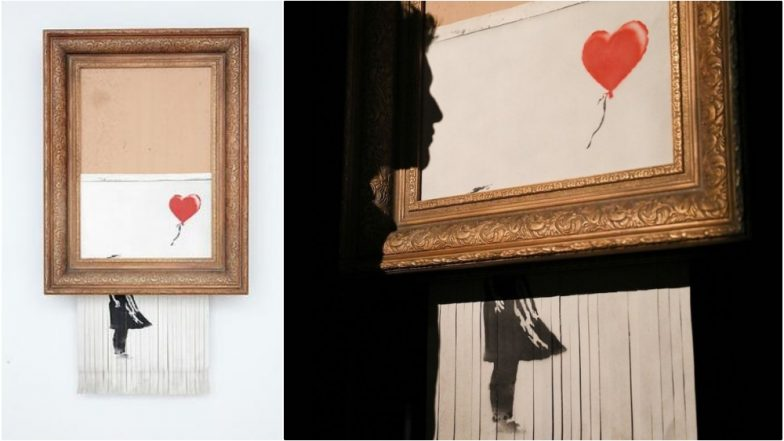 Banksy's Self-Shredding Painting 'Love Is in the Bin' Goes on Display in Germany