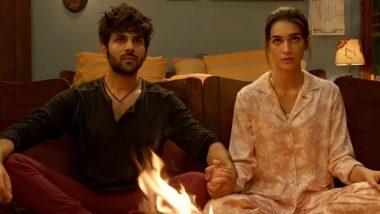 Luka Chuppi Box Office Collection: Kartik Aaryan and Kriti Sanon's Rom-Com Continues to Rake in Moolah, Earns Rs 92.73 Crore