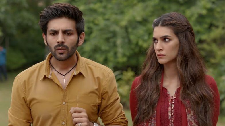 Luka Chuppi Box Office Collection Day 9: Kartik Aaryan and Kriti Sanon Starrer Rom-Com Rakes in Rs 62.05 Crore