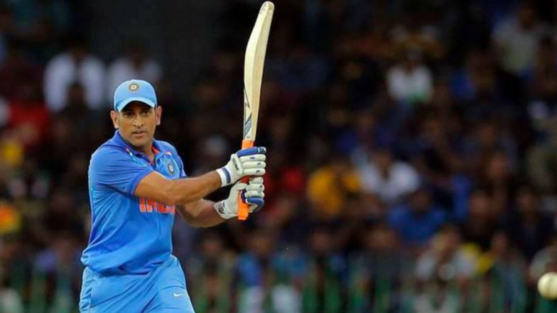 Ind vs Aus 2019: MS Dhoni Form in Bengaluru May Become a Threat for Australia in 2nd T20I