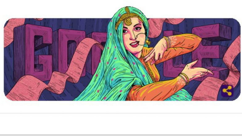 Madhubala 86th Birthday Google Doodle: Search Giant Remembers 'Mughal-E-Azam' Actress on Valentine's Day 2019
