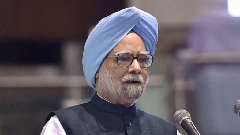 Manmohan Singh Targets Narendra Modi Govt on Economy Crisis in India, Says Govt Does Not Acknowledge the Word 'Slowdown'