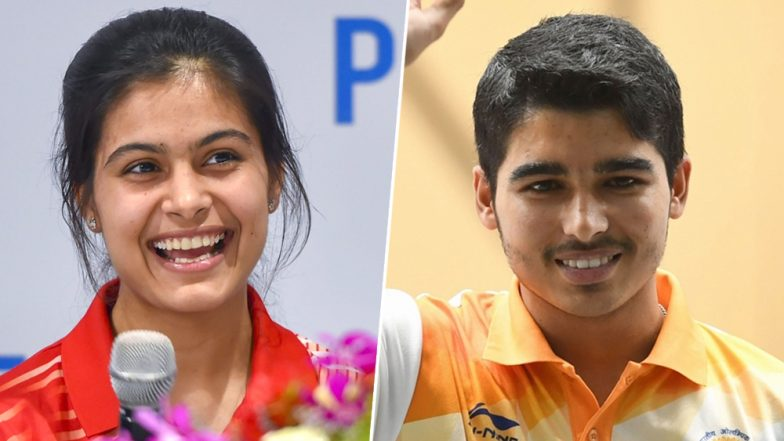 ISSF Shooting World Cup 2019: Manu Bhaker, Saurabh Chaudhary Clinch Gold Medal in 10m Air Pistol Mixed Team