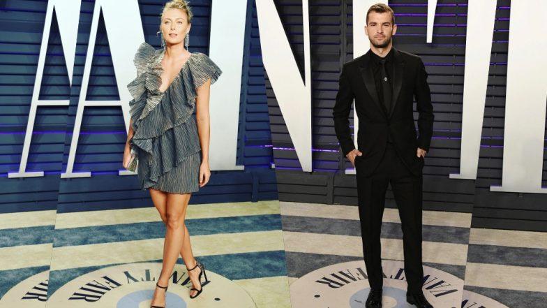 Maria Sharapova and Ex-Boyfriend Grigor Dimitrov Make a Stylish Appearance at 2019 Vanity Fair Oscars Party (View Pics)