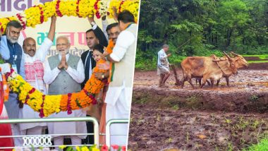 Narendra Modi to Launch PM-KISAN Scheme from Gorakhpur, Transfer Rs 2,000 Each to 1 Cr Farmer's Bank Accounts Thought DBT