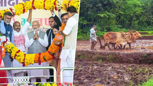 Narendra Modi to Launch PM-KISAN Scheme from Gorakhpur, Transfer Rs 2,000 Each to 1 Cr Farmer's Bank Accounts Though DBT