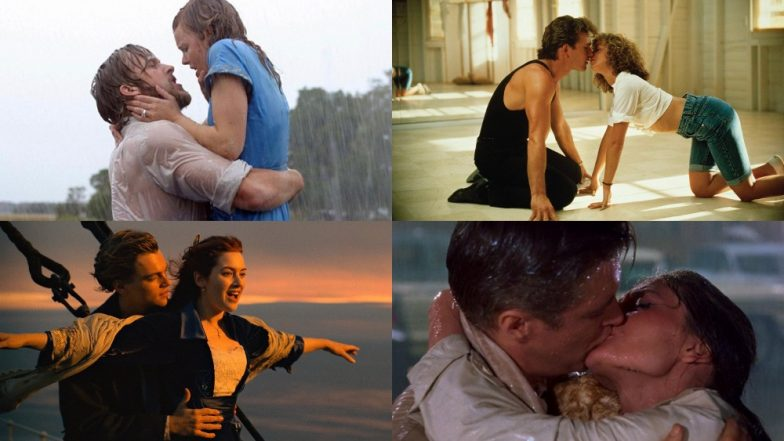 Leonardo DiCaprio - Kate Winslet, Ryan Gosling - Rachel McAdams, Dakota Johnson - Jamie Dornan: 10 Most Passionate Kisses In Hollywood Films