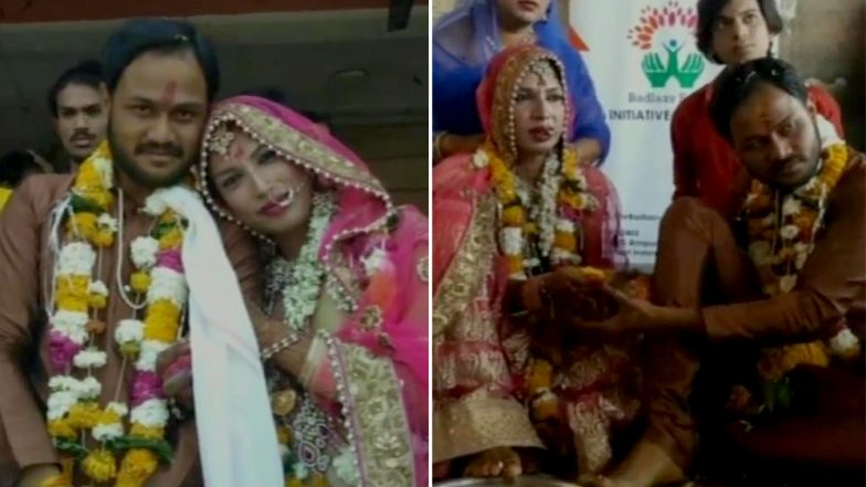 Love is Love! Muslim Man and Transwoman Get Married in Madhya Pradesh on Valentine's Day 2019