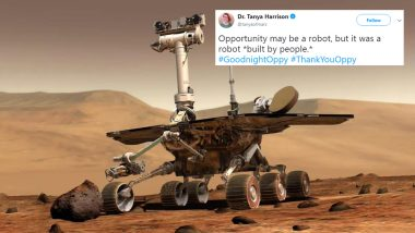 NASA's Opportunity Rover Declared Dead! Twitterati Mourns The Loss of Robot Stationed on Mars