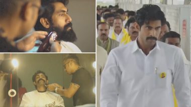NTR Mahanayakudu: Rana Daggubati Turns Into N Chandrababu Naidu and The Transformation Video is Unmissable