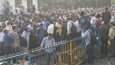 Mumbai: Protestors Block Rail Tracks at Nalasopara Against Pulwama Attacks, Shiv Sena Calls For Bandh in Vasai-Virar Area Today
