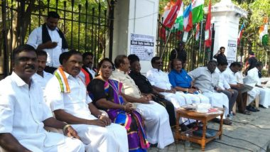 Narayanasamy Vs Kiran Bedi: Puducherry CM Temporarily Suspends Dharna After Meeting With L-G